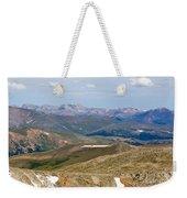 Mountain Range From Mount Evans Summit Weekender Tote Bag