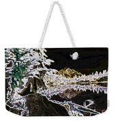 Mountain Reflects Weekender Tote Bag