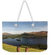 Mountain Relaxation Weekender Tote Bag
