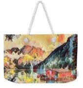 Mountain Retreat Weekender Tote Bag