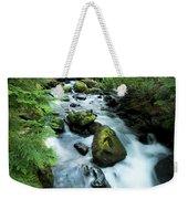 Mountain River Weekender Tote Bag
