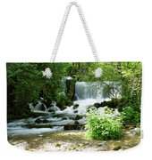 Mountain River Spring Weekender Tote Bag