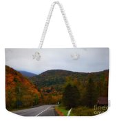 Mountain Road, Killington Vermont Weekender Tote Bag