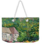 Mountain Scenery In Dale, Sandnes Weekender Tote Bag