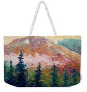 Mountain Sentinel Weekender Tote Bag