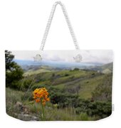 Mountain Side  Weekender Tote Bag