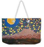 Mountain Sky Weekender Tote Bag