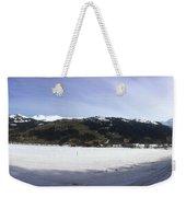 Mountain Snow World Long Weekender Tote Bag