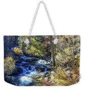Mountain Stream In Fall Weekender Tote Bag