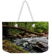 Mountain Stream Iv Weekender Tote Bag