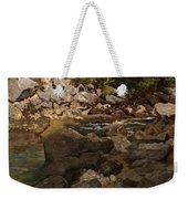 Mountain Stream With Boulders Weekender Tote Bag