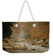 Mountain Stream With Tree Overhang #1 Weekender Tote Bag