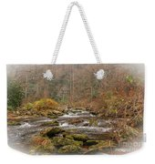 Mountain Stream With Vignette #2 Weekender Tote Bag