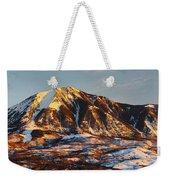 Mountain Sunsets Weekender Tote Bag