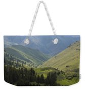 Mountain Top 6 Weekender Tote Bag