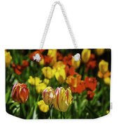 Mountain Tulips Weekender Tote Bag