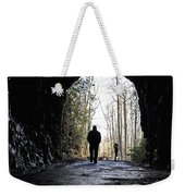 Mountain Tunnel Weekender Tote Bag