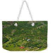 Mountain View In Colorado Weekender Tote Bag