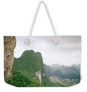 China Mountain View Weekender Tote Bag