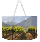 Mountain Vineyard Weekender Tote Bag