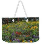 Mountain Wildflowers Weekender Tote Bag