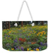 Mountain Wildflowers Weekender Tote Bag
