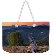 Mountain Wood Formation Weekender Tote Bag