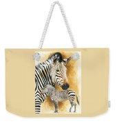 Mountain Zebra Weekender Tote Bag