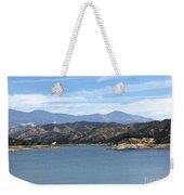 Mountainous View Weekender Tote Bag