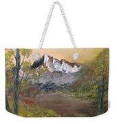 Mountains Afar Weekender Tote Bag