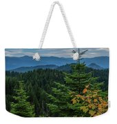 Mountains Around Priest Lake Weekender Tote Bag