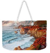 Mountains Bow Down Weekender Tote Bag