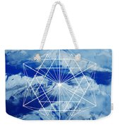Mountains, Clouds And Geometry Weekender Tote Bag