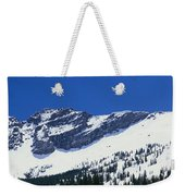 Mountains Covered With Snow, Little Weekender Tote Bag