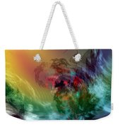 Mountains Crumble To The Sea Weekender Tote Bag
