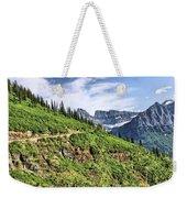 Mountains In Glacier National Park 1 Weekender Tote Bag