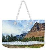 Mountains In Glacier National Park 2 Weekender Tote Bag
