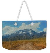 Mountains In Puru Weekender Tote Bag