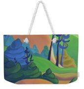 Hills In Spring Weekender Tote Bag