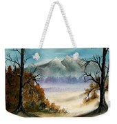 Mountains Landscape Oil Painting Weekender Tote Bag