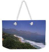 Mountains Meet Ocean On The Garden Weekender Tote Bag