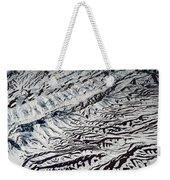 Mountains Patterns. Aerial View Weekender Tote Bag