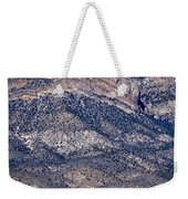 Mountainside Abstract - Red Rock Canyon Weekender Tote Bag