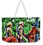 Mounted Infantry Weekender Tote Bag