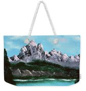 Mountian Waterfall Weekender Tote Bag