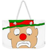 Mournful Clown Weekender Tote Bag