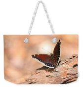 Mourning Cloak Butterfly Weekender Tote Bag