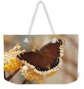 Mourning Cloak Butterfly Weekender Tote Bag