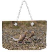 Mourning Dove Pair Weekender Tote Bag