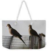 Mourning Doves Calverton New York Weekender Tote Bag